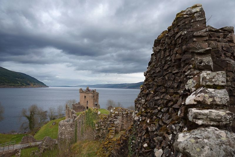 Cloud - Sky Built Structure Architecture History Sky Old Ruin Day Nature Building Exterior No People Outdoors Mountain Castle Scenics Beauty In Nature Ancient Civilization Water UrquhartCastle Loch Ness The Great Outdoors - 2017 EyeEm Awards