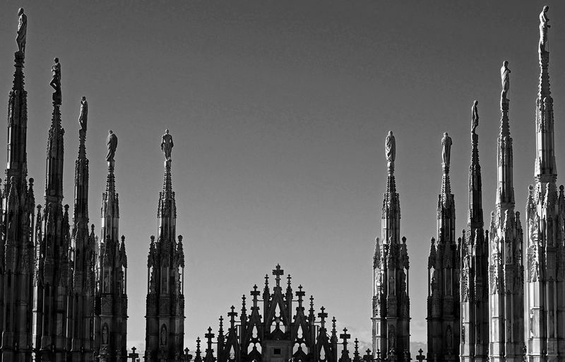 Milan Cathedral Against Sky