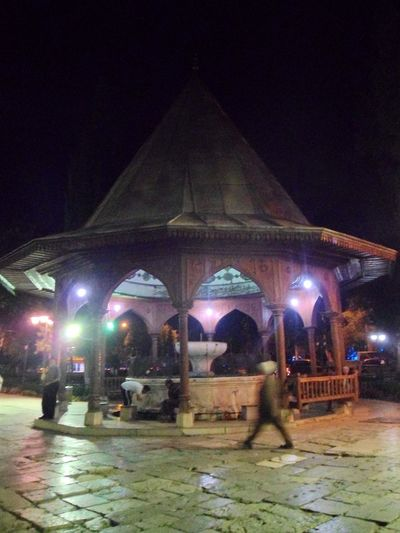 Mosque Illuminated Arts Culture And Entertainment Architecture Built Structure Historic History