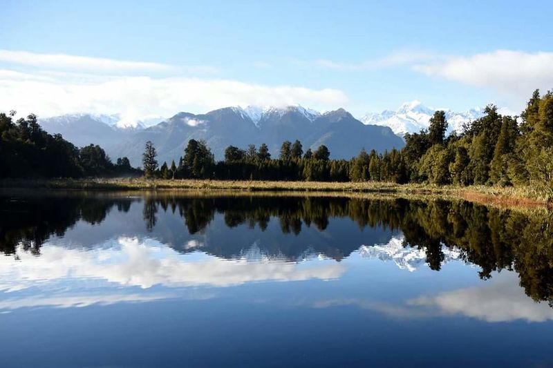New Zealand Beauty New Zealand New Zealand Sky New Zealand Adventures New Zealand Landscapes New Zealand Landscape New Zealand Scenery New Zealand Natural Mountain Fox Glacier Lake Matheson Reflection Been There. Lost In The Landscape