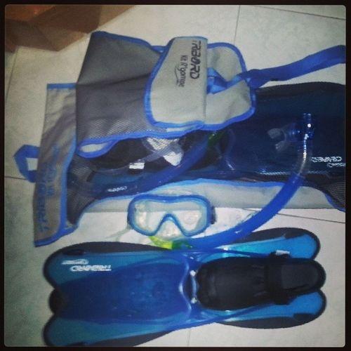 Preparing summer! Snorkel!! ☆