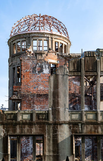Built Structure Architecture Building Exterior Dome Nature No People Day Sky Old Building History Outdoors The Past Damaged Abandoned Metal Travel Destinations Decline Weathered Deterioration