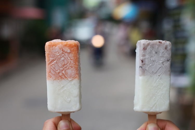 Body Part Close-up Dairy Product Dessert Finger Flavored Ice Focus On Foreground Food Food And Drink Frozen Frozen Food Frozen Sweet Food Hand Holding Human Body Part Human Hand Human Limb Ice Ice Cream Indulgence One Person Sweet Sweet Food Temptation Unhealthy Eating