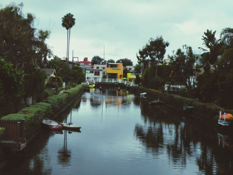 From a dark and blustery day trip. Venice Beach DogTown Life Is A Beach Venice Canals, CA