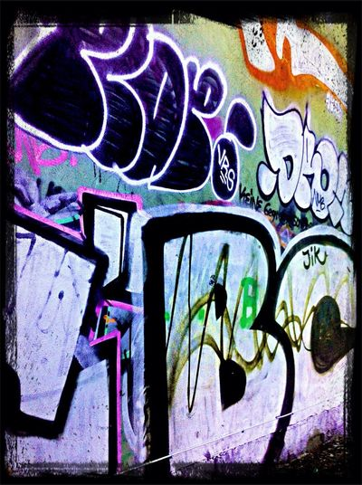 BC-Crew ( Berlin Crime )   Graffiti @ Gruner Strasse /Klosterstraße