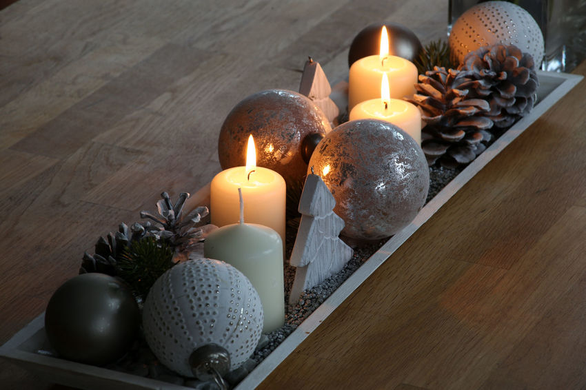 Advent Decoration Advent Season Burning Candle Candles Burning Celebration Christmas Decoration Close-up Cosy Day Flame Heat - Temperature Illuminated Indoors  No People Table Tabletopphotography Tea Light