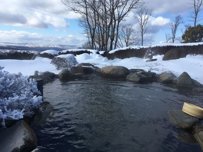 Hot spring with
