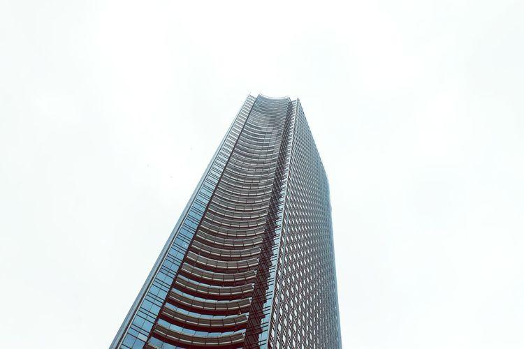 Exterior Architecture Building Highrise Jakarta Indonesia