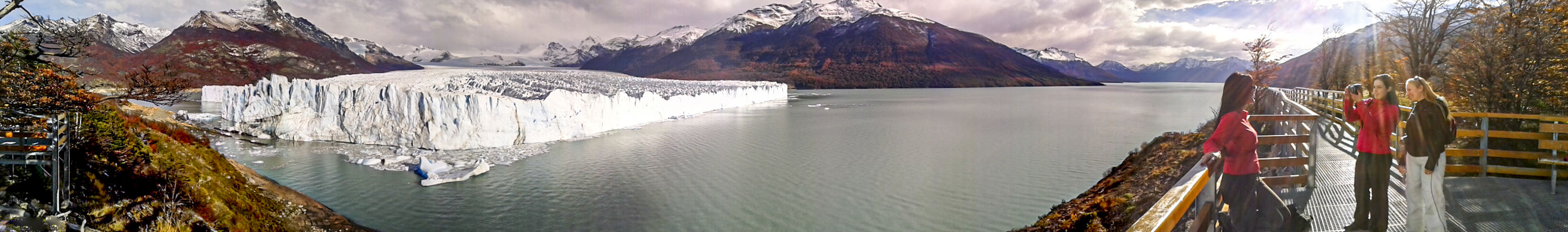 Glaciar Perito Moreno Calafate Viajes  The Traveler - 2019 EyeEm Awards The Mobile Photographer - 2019 EyeEm Awards Panoramic Water Mountain Nature Environment Landscape Scenics - Nature Sky Travel Destinations Ice Reflection Outdoors Glacier Cold Temperature No People Mountain Peak Cloud - Sky Snow Mountain Range Lagoon