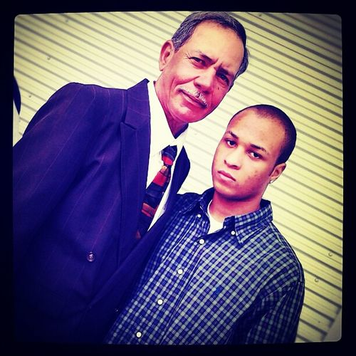 Me and my Grandfather.