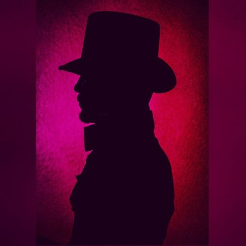 Haven't posted in a while. Was playing around last night with some different colors. 📷 Photography Silhouette Colorgels Tophat 🎩