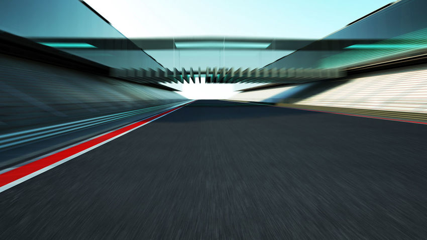 Abstract Architecture Blurred Motion Built Structure City Diminishing Perspective Direction Futuristic Illuminated Indoors  Long Exposure Mode Of Transportation Modern Motion No People on the move Road Speed The Way Forward Transportation Tunnel