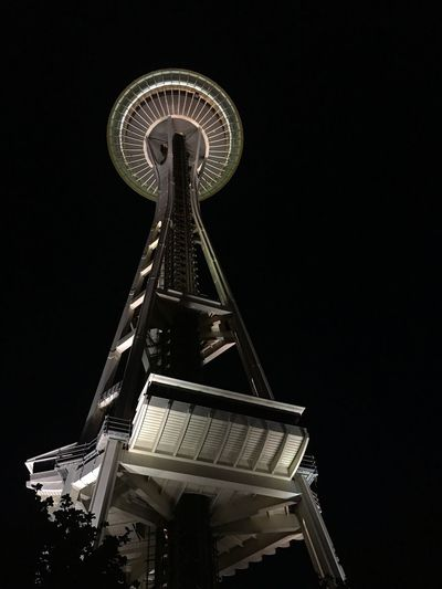 Space needle in Seattle. Mix Yourself A Good Time
