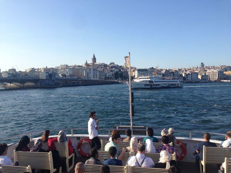 Galatakulesi Deniz Uskudar Eminönü Marmarasea Sun Travel Ship Boğaz Köprüsü Vapur Guzel seyler hep Istanbul'dur. 😊