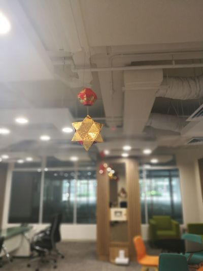 Star Lantern Cny Angpow Angpao Indoors  Illuminated No People Architecture Home Showcase Interior Day