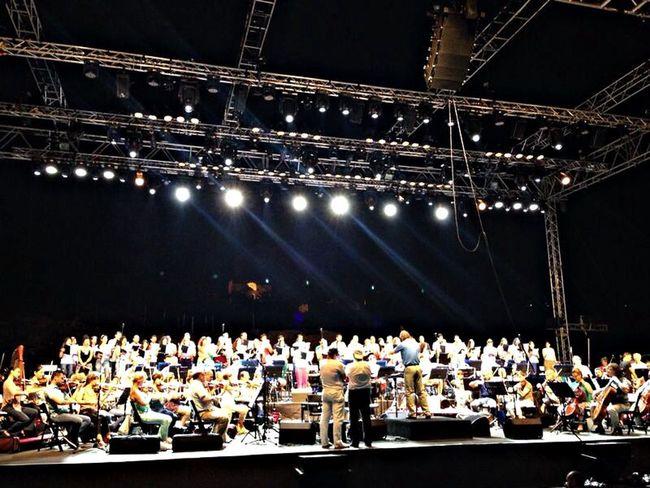 Marcel Khalife rehearsals in Byblos
