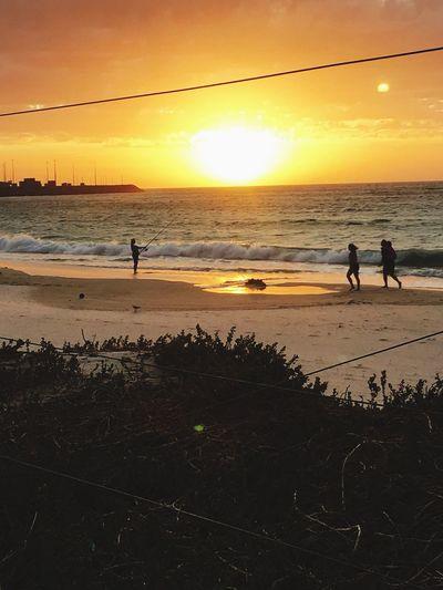 Water Heat Sky Clouds And Sky Australian Landscape Australian Coast Fisherman Fishermen Sunset Aussie Beachlife Heaven Home Burn Bliss 2016 Strayla Life Is A Beach