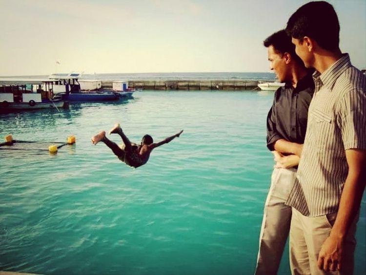 Holidays Island In Maldives Fisherman's Friend Taking Photos