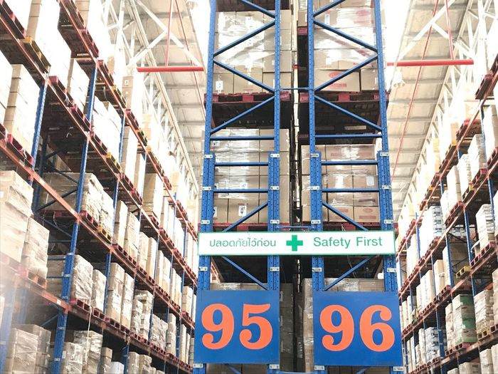 warehouse Shelf Mode Of Transport Warehouse Transportation