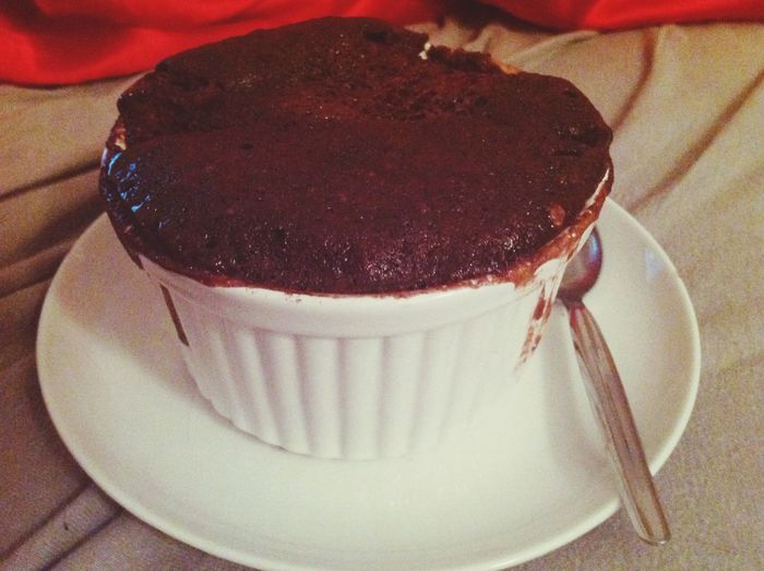 Im in heaven ❤️? Cake Chocolate Cake In Cup
