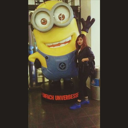 Outfit Blackandwhite Supercolor Danielwellington Minion  Cute Asiangirl Cinema Cubix Berlin