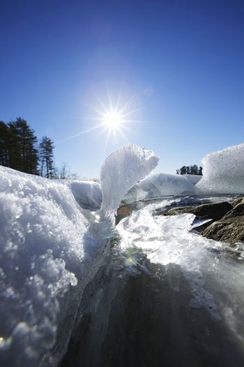 Ice taking sunbath! Canon 5dMarkⅡ Wideangle Nature Ice Frozen Sunshine Amateurphotography Enjoying Life Finland