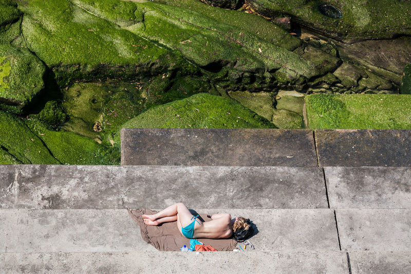 Bondi Beach, Sydney, Australia Australia Beach Beach Life Beautiful Woman Bikini Bondi Bondi Beach Coastline High Angle View Icebergs Ocean Outdoors Relaxing Sea Shore Sleeping Sommergefühle Street Photography Streetphoto_color Streetphotography Summer Summetime Sunbathing Swimsuit Sydney The Traveler - 2018 EyeEm Awards