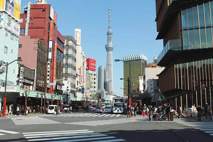 Tokyo Japan City Travel City Life Skyscraper City Street Urban Skyline Sky Travel Destinations Outdoors Business Finance And Industry No People Downtown District Day
