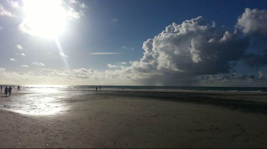 Sand beach sun