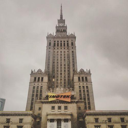 Warszawa pozdrawia. Wwa Warszawa  Pałac Pogodadodupy Poland Tuesday Deszcz Polska Szczecin Nictuniema