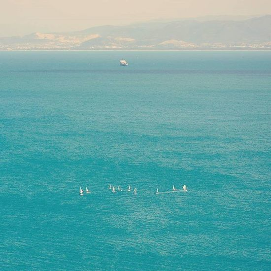 Wwim13 Tunisian IgersTunisia Sidi_bou_said Tunis Wwim13Tunisia Sea Boat Sailing Surfing سورفينغ في البحر مش في أنترنات :p