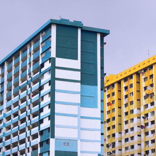 1×1 Apartment Architecture Building And Sky Building Exterior Built Structure City City Life Colorful Buildings Day Low Angle View No People Residential Building Residential Structure Tall - High The Architect - 2016 EyeEm Awards TakeoverContrast