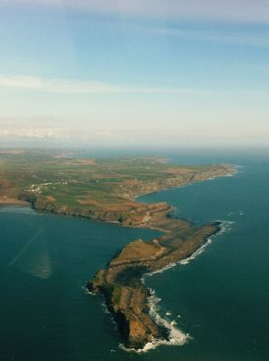Airplane Aerial Photography Cliffs Ocean Wales Seascape Taking Photos Sea And Sky Rule Of Thirds