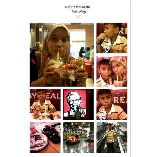Dinner with akbar (nephew)Suzuya mallAmazone KFC