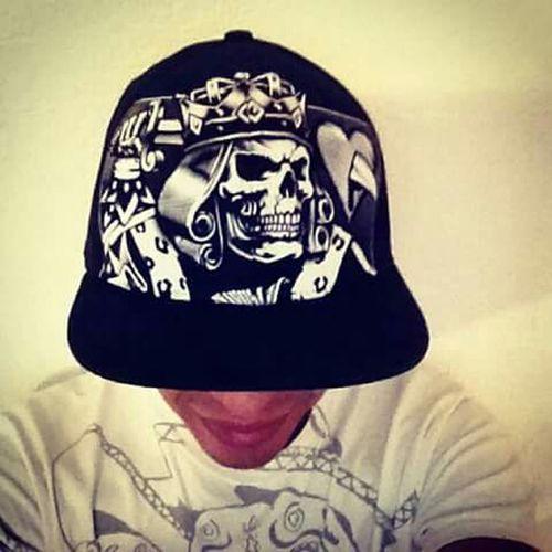 Yo mi gorra de calavera My Cap Skull Skull Queen Of Hearts