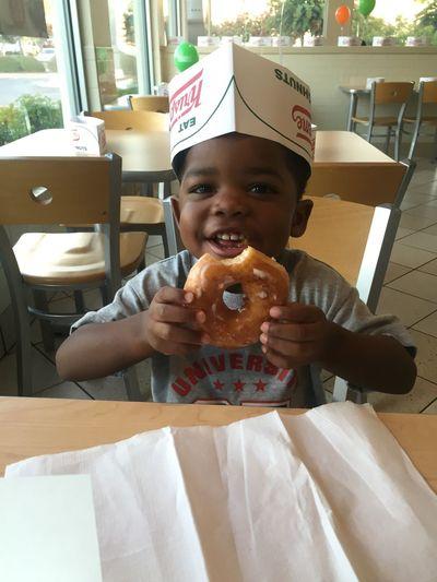 The look of love! Krispykremedoughnuts KrispyKreme Farherandson