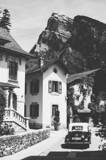 Alps Architecture Blackandwhite Blaxkandwhite France French Alps Mountain Samoens Timeless