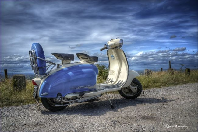 My beloved scooter, Lambretta Li 150 S2. Hdr_Collection Hdrphotography Lambretta Classic Scooters