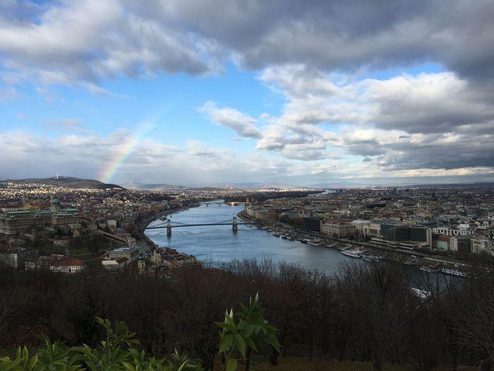 Budapest Beautifulcity Enjoying Life Relaxing Taking Photos IPhoneography Beautiful Day Discoverbudapest Rainbow Danube
