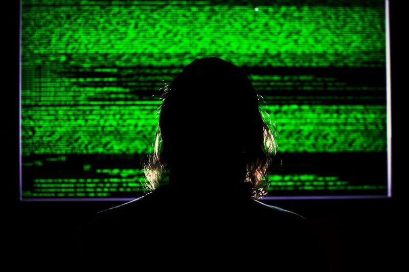 Computer Hacker Programming Code The Portraitist - 2016 EyeEm Awards Screen Silhouette Green Text Font The Innovator Human Technology Winners