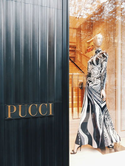 Pucci Shopping Day Shop Paris Shopping Time Rich Life Fashion Glass Glass - Material Indoors  Lifestyles Low Section Pattern Standing Wall Wall - Building Feature Window Women Pucci Fashion Photography Fashionable Luxurylife Luxury Luxery Exclusive  Luxurylifestyle