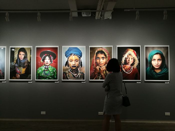 Photo Exhibition Steve McCurry🎎 House Of Lucie Arts Culture And Entertainment Bangkok Thailand Passion Women Indoors