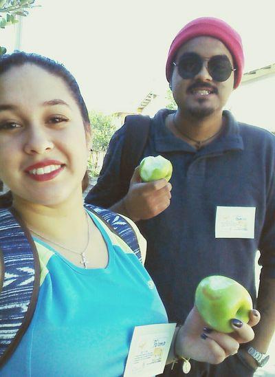Hi! Apple Friends ❤ Selfie