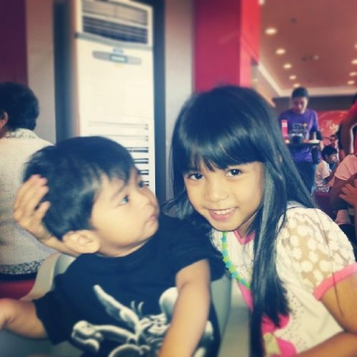 Lian and jerrico @bossjerrico ♥♥♥♥ Nephewandniece