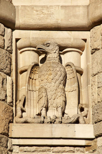 Detail at the Bismarck Tower in Stuttgart. A mighty eagle Architecture Architecture Bas Relief Bismarck Tower Eagle History MightY Stuttgart Symbol