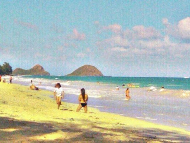 Beach Hawaii Bellows Good Times Good Vibes