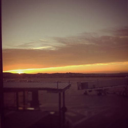 Madrid Sunrise_sunsets_aroundworld At The Airport
