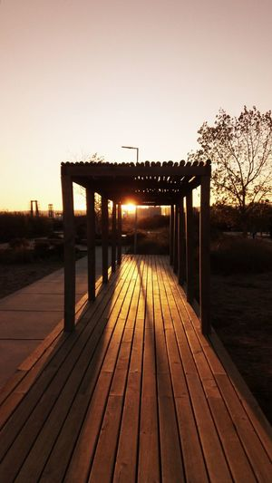 The Light Wood - Material Outdoors Sunset Footbridge Sky Nature Water Lisbon - Portugal Tourism Travel Destinations Póvoa De Santa Iria
