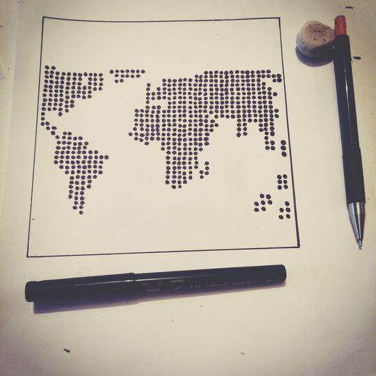 Essai Dessin Monde