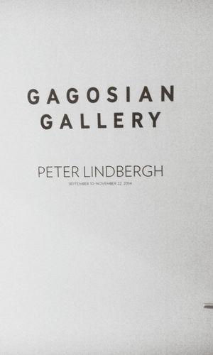 Peterlindbergh Photographer Black And White Paris